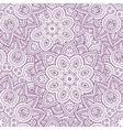 indian mandala seamless pattern vector image