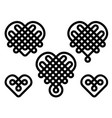 chinese knots vector image vector image