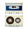 retro audio cassette vintage classic audio vector image