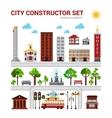City Constructor Set vector image