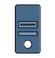 data server computer icon vector image