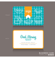 bakery shop or cafe Business card vector image