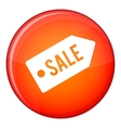 Sale icon flat style vector image