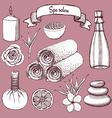 Sketch Japanise restaurant vector image