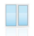 plastic window 03 vector image vector image
