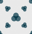 Color scheme icon sign Seamless pattern with vector image
