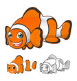 Clown Fish vector image