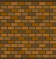 seamless pattern of brick wall vector image