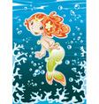 Baby Mermaid vector image