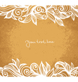 Absract floral background vector image vector image
