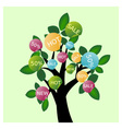 Sale tree vector image