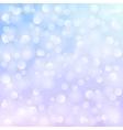 white bokeh vector image