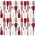 background with bottles Good for restaurant or bar vector image vector image