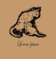 Cat and Kitten Logo vector image