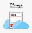 storage center design vector image