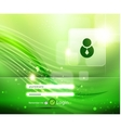green start login page vector image vector image