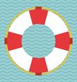 Lifesaving icon design vector image