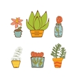 Plants vector image vector image