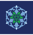 Ottoman decorative pattern vector image