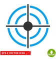 Target Eps Icon vector image