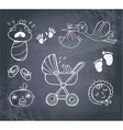 Infant Icon set vector image