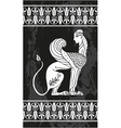 Ancient Greek Sphinx vector image