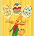 bunny artist vector image
