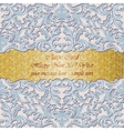 Luxury New Year gold mosaic card vector image