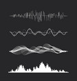 music sound vector image