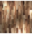 Brown wood texture of floor with patterns EPS 10 vector image