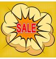 Cartoon of sale vector image