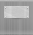 Metal texture for background vector image