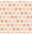 seamless polka dots texture background vector image
