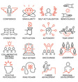 Strategy career progress and business process -43 vector image vector image