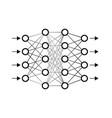 neural network vector image