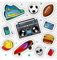 Fashion Patches Collection vector image