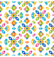 Colorful tileable pattern background vector image