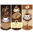 Local cafes vector image