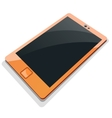 Tablet mobile phone in vector image