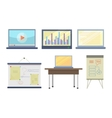Set of Tools for Seminar and Lecture vector image