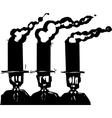 Business Smokestacks vector image