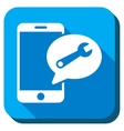 Service SMS Icon vector image