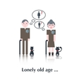 Old People icon vector image