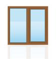 plastic window 08 vector image vector image