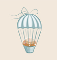 parachute muffin vector image vector image