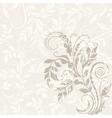 EPS10 decorative floral background vector image