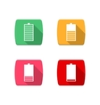 Icons Battery vector image