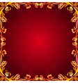 red antique background vector image
