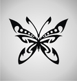 Tribal Butterfly vector image