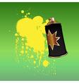 aerosol spray  vector image vector image